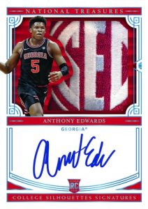 College Silhouettes Signatures Anthony Edwards MOCK UP