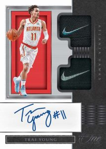 Dual Jersey Auto Black Trae Young MOCK UP