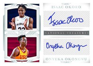 Dual Signatures Isaac Okoro, Onyeka Okongwu MOCK UP