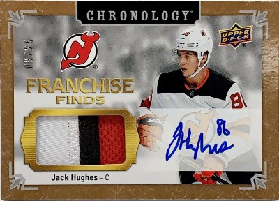 Franchise Finds Auto Relic Jack Hughes