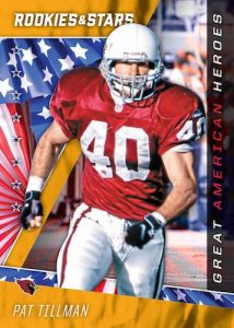 Great American Heroes Gold Pat Tillman MOCK UP