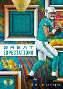Great Expectations Relics Tua Tagovailoa MOCK UP