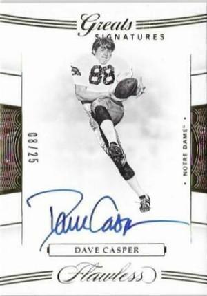 Greats Signatures Dave Casper