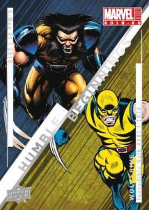Humble Beginings Wolverine MOCK UP