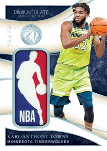 Logoman Relics Karl-Anthony Towns MOCK UP