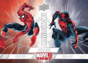 Marvel Com-Mix Spiderman MOCK UP