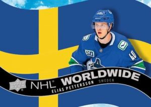 NHL Worldwide Elias Pettersson MOCK UP