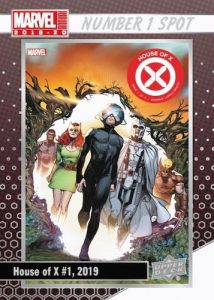 Number 1 Spot House of X #1, 2019
