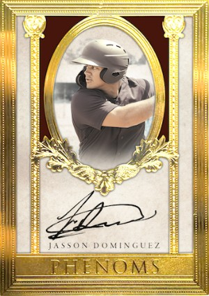 Phenoms Auto 24KT Framed Jasson Dominguez MOCK UP