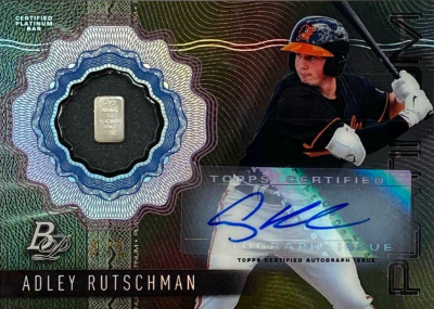 Platinum Pedigree Auto Adley Rutschman