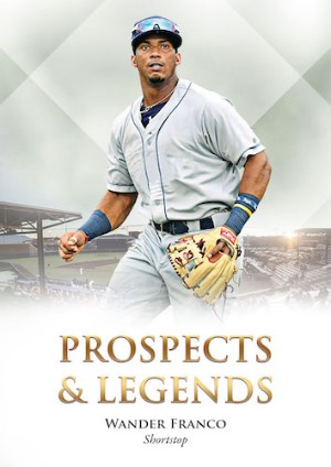 Prospects and Legends Base Wander Franco MOCK UP