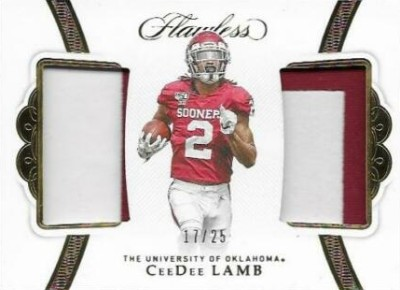 Rookie Dual Patches CeeDee Lamb