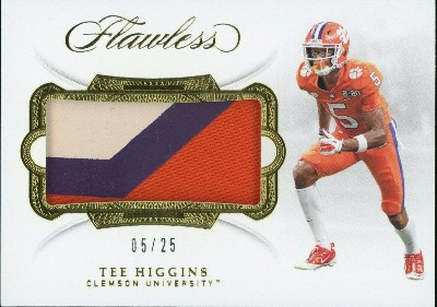 Rookie Patches Tee Higgins