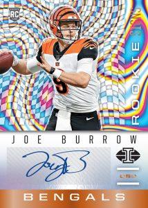Rookie Signs Orange Joe Burrow MOCK UP