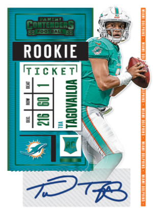 Rookie Ticket RPS Preview Green Tua Tagovailoa MOCK UP
