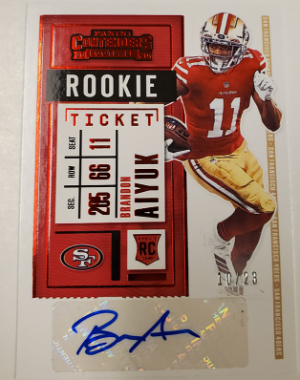 Rookie Ticket RPS Preview Red Brandon Aiyuk