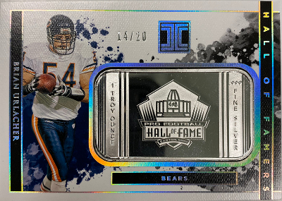 SIlver Hall of Famers Brian Urlacher