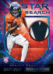 Star Search Relics Prime Jerry Jeudy MOCK UP