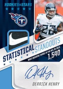 Statistical Standouts Signatures Platinum Derrick Henry MOCK UP