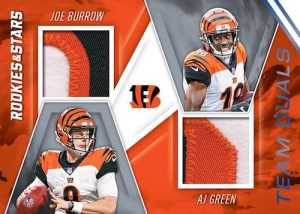 Team Duals Relics Prime Joe Burrow, AJ Green MOCK UP