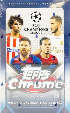 2019-20 Topps Chrome UEFA Champions League
