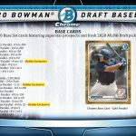 2020 Bowman Draft Baseball