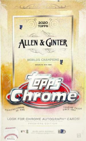 2020 Topps Allen & Ginter Chrome