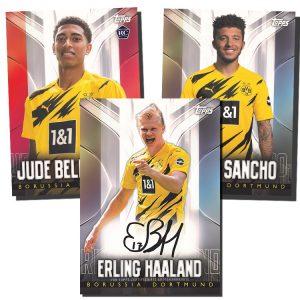 2020-21 Topps Chrome BVB Borussia Dortmund