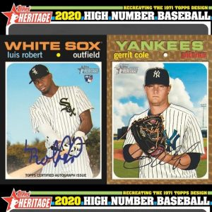 2020 Topps Heritage High Number Baseball