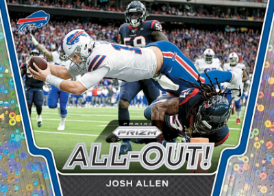 All Out! Prizms No Huddle Josh Allen MOCK UP