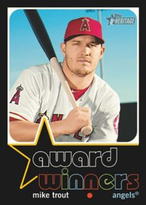 Award Winners Mike Trout MOCK UP