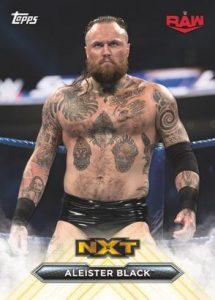 NXT Roster Alumni Aleister Black MOCK UP