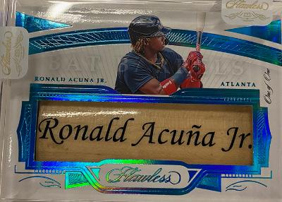 Bat Barrels Ronald Acuna Jr