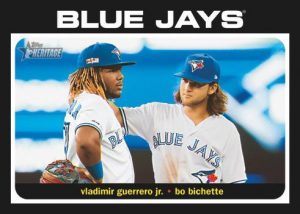 Combo Cards Vladimir Guerrero Jr, Bo Bichette MOCK UP