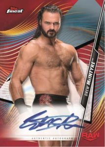 Finest Auto Red Refractor Drew McIntyre MOCK UP