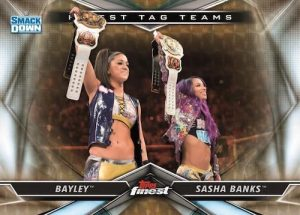 Finest Tag Teams Bayley, Sasha Banks MOCK UP