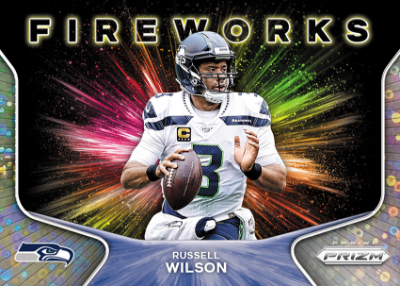 Fireworks Prizm No Huddle Russell Wilson MOCK UP