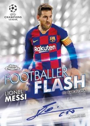 Footballer Flash Auto Lionel Messi MOCK UP