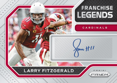 Franchise Legends Signatures Larry Fitzgerald MOCK UP