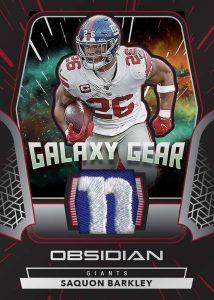 Galaxy Gear Electric Etch Red Saquon Barkley MOCK UP