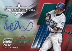 Lone Star Signatures Ichiro MOCK UP