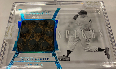 Spikes Mickey Mantle
