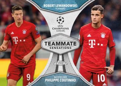 Teammate Sensations Robert Lewandowski, Philippe Coutino MOCK UP