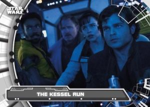 The Adventures of Han Solo The Kessel Run MOCK UP