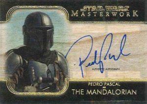 The Mandalorian Signers Pedro Pascal as the Mandalorian MOCK UP
