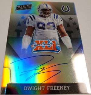 2019 Super Bowl Signatures Prizm Dwight Freeney