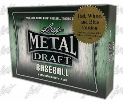 2020 Leaf Metal Draft Baseball