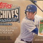 2021 Topps Archive Signature Series Active