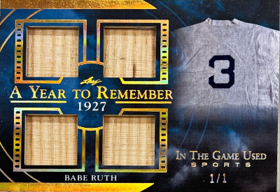 A Year to Remember Gold Babe Ruth