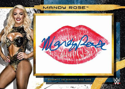 Auto Kiss Relics Mandy Rose MOCK UP